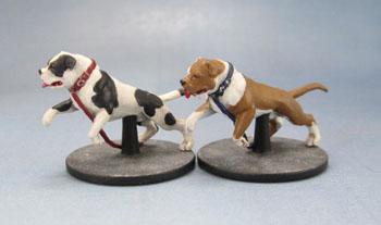 Zombicide Dog Companions, American Bulldogs