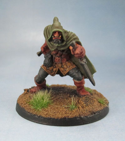 Reaper Miniatures 03278: Rogan, Half-Orc Thief