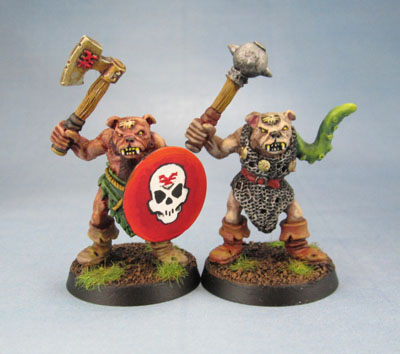 Citadel Oldhammer Realm of Chaos Beastmen