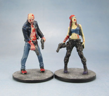 Zombicide Jason Statham as Chev Chelios from Crank 2, Angry Mary by Karl Kopinski