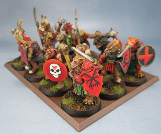 Oldhammer Beastmen, Realm of Chaos, Khorngor