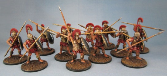 Warlord Games Immortal Miniatures Spartans