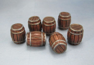 Mantic Games Dungeon Saga Scenery Barrels