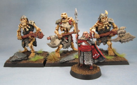 Ral Partha Europe, Das Schwarze Auge, Undead Skeletal Ogres, Citadel Lord of the Rings, Forlong the Fat