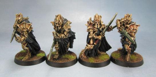 All four Castellans of Dol Guldur