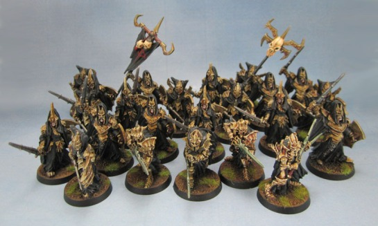 Citadel Lord of the Rings, Castellans of Dol Guldur, Black Númenórean Warriors