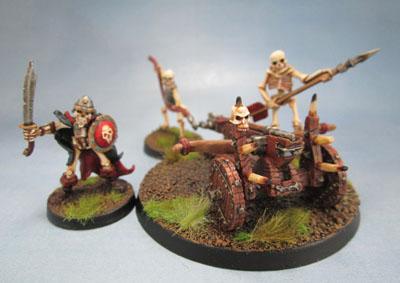 RPE Mage Knight Metal Skeleton 541, RPE Skeleton Ballista 02.190