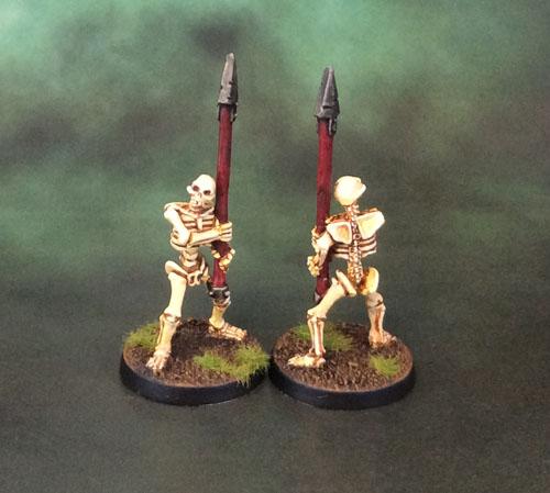 Celtos Fir Bolg Skeleton Spearmen