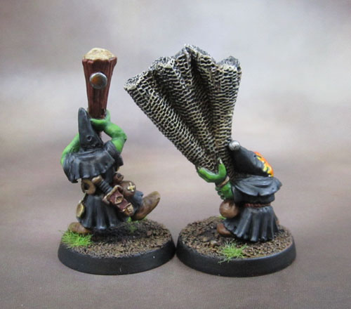 4th Edition WHFB Night Goblin Netter and Clubber Gloomspite Gitz