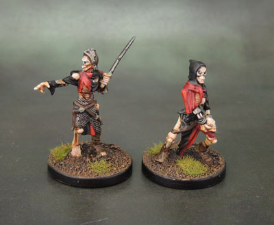 Mantic Games Undead Balefire Catapult Crew