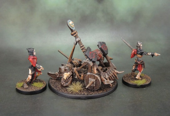 Mantic Games Undead Balefire Catapult