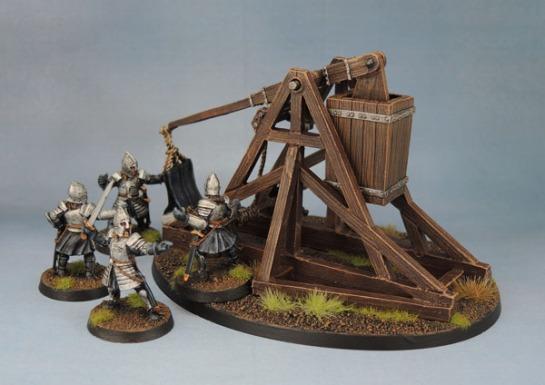 Citadel Gondor Battlecry Trebuchet.