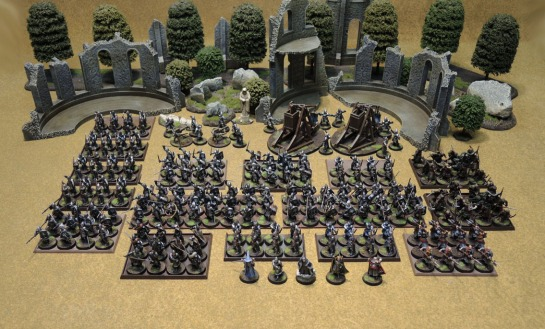 Citadel Miniatures Lord of the Rings Painted Gondor Army