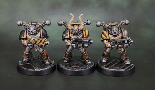 Assassinorum: Execution Force Chaos Space Marines, Iron Warriors.