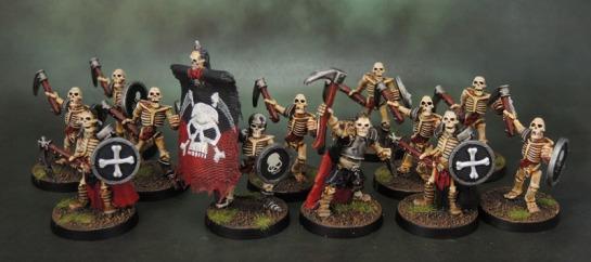 Celtos Fir Bolg Skeleton with Sickles