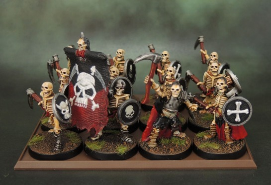 Celtos Fir Bolg Skeletons with Sickles