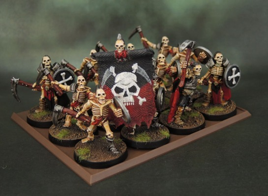 Celtos Fir Bolg Skeletons with Sickles