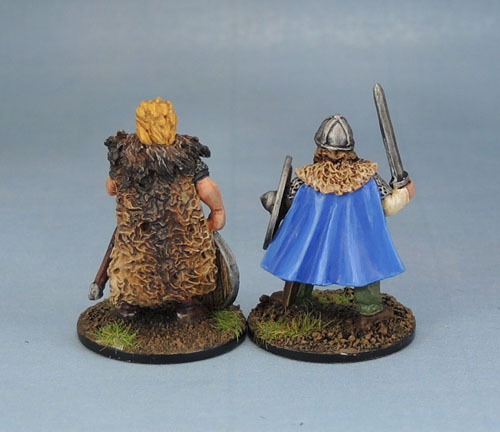 Eureka Miniatures Beowulf the Geat. Wargames Foundry Viking