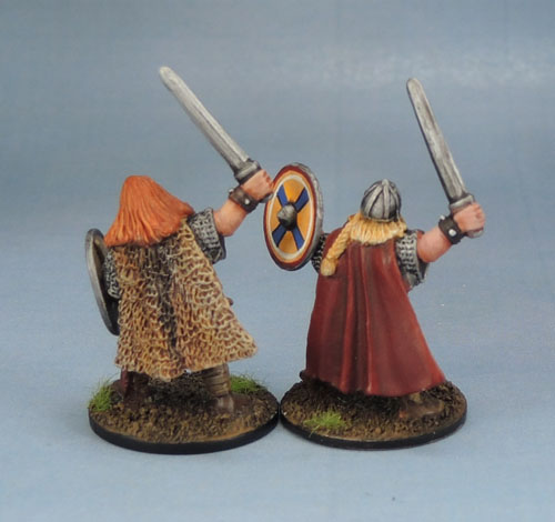 Wargames Foundry VIK031 Vikings Horvak Sigvaldi & Arnthor Boddason