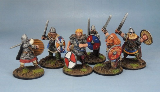 Eureka Miniatures Beowulf the Geat. Wargames Foundry VIK031 Vikings Horvak Sigvaldi & Arnthor Boddason