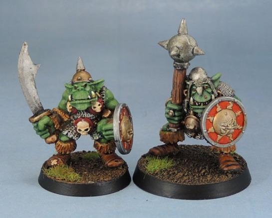 Citadel Kev Adams Orc with Sword, Big'Un with Mace