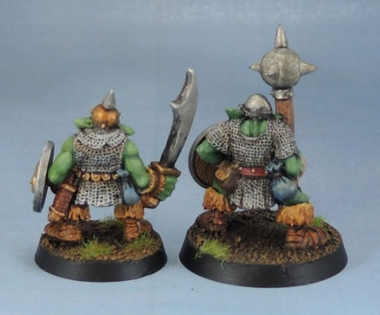 Citadel Kev Adams Orc with Sword, Big'Un with Mace