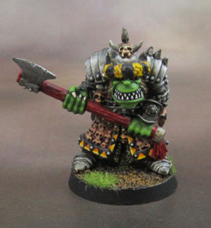 Kev Adams' Heartbreaker Orc Leader (RPE 2001)