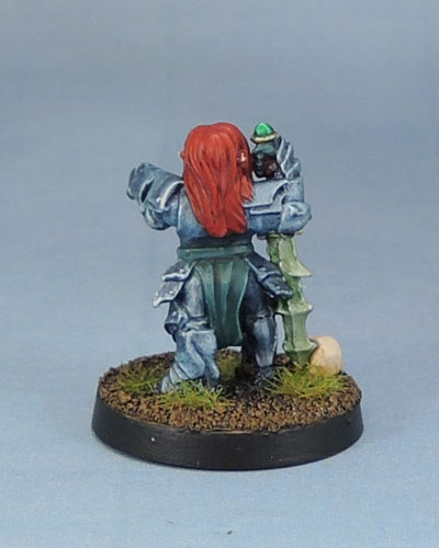 Stonehaven Miniatures Dwarf Anti-Paladin, Death Knight, Shadowknight