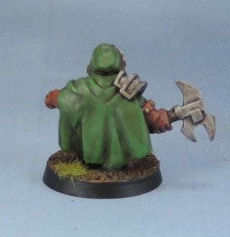 Reaper Miniatures 14460: Dwarven Pathfinder Grunt, 03508: Bregol Jagstone, Dwarf Ranger