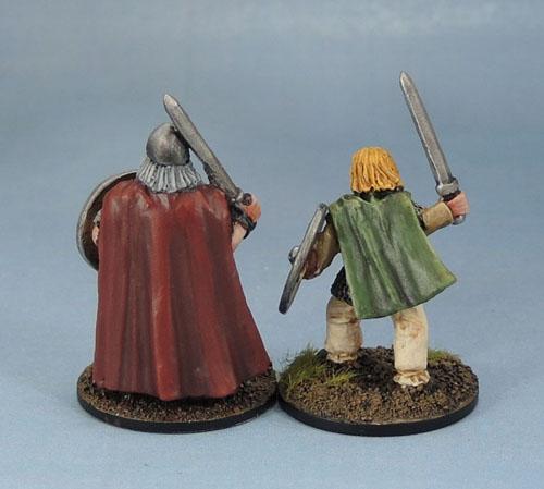 Wargames Foundry VIK031 Gunwald Uggason & Viking