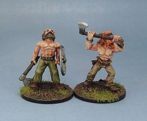 Citadel F4 Fighters Norse Vikings, Wargames Foundry Viking Berserkers - VNS003