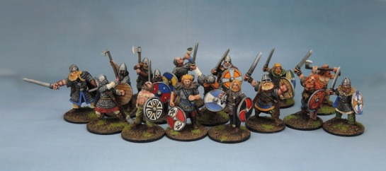 28mm Viking Miniatures Warband