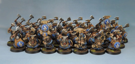 Citadel Games Workshop Battle for Skull Pass Dwarf Warriors
