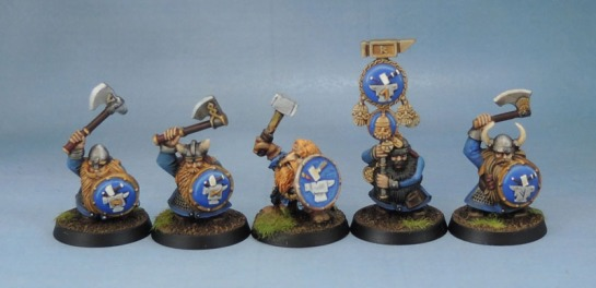 Citadel Games Workshop Battle for Skull Pass Dwarf Warriors, Oldhammer Norse Dwarf