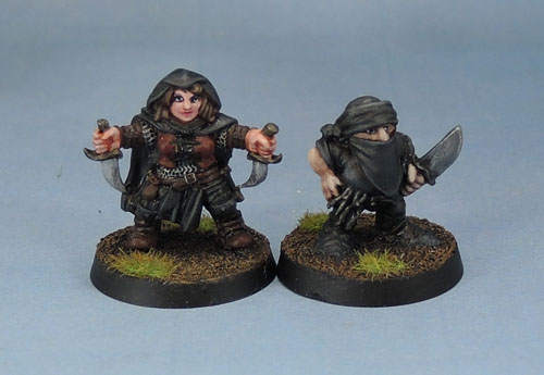 Citadel Oldhammer Dwarf Adventurer and Stonehaven Dwarf Rogue