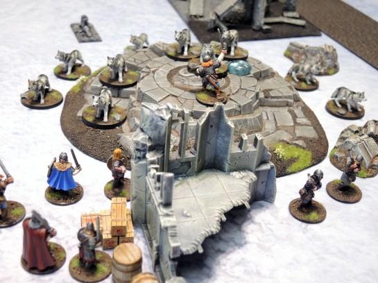 Urbanmatz' 6'x4' Snow Territory Game Mat. Frostgrave