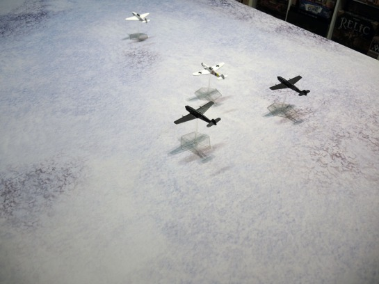 Urbanmatz' 6'x4' Snow Territory Game Mat. Axis & Allies Angels 20, WWII Dogfight, WW2 Dog Fight