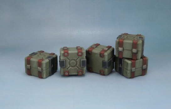 Sedition Wars Terrain Set Crates