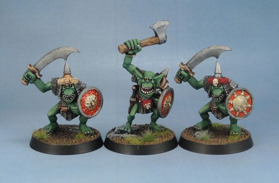Orc Big'Un with Axe, Orc Big'Un with Sword 2