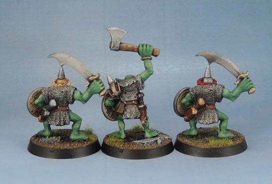 Orc Big'Un with Axe, Orc Big'Un with Sword 2
