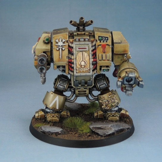 AoBR Dreadnought, AOBR Marines, Castraferrum Dreadnought, Minotaurs Dreadnought, Minotaurs Space Marines.