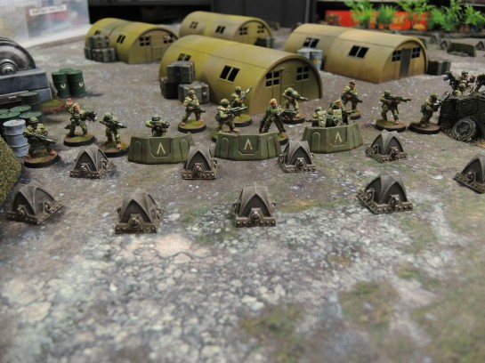 Secret Weapon Miniatures 40k Gothic Dragon's Teeth Tank Traps. Cadian Shock Troops, Imperial Guard, Astra Militarum