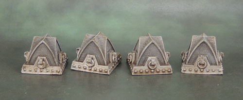 Secret Weapon Miniatures 40k Gothic Dragon's Teeth Tank Traps