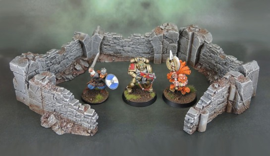 Rackham Confrontation Walls