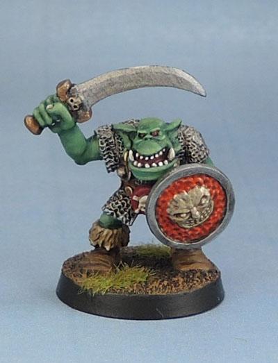 Orc with Sword 1, Oldhammer, Kev Adams