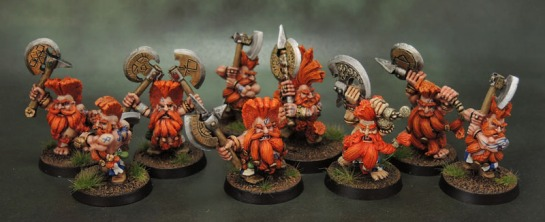 Citadel Troll Slayers, Giant Slayers, Daemon Slayer, Warhammer Quest Slayer