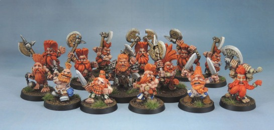 Troll Slayer, Giant Slayer Unit, Marauder MM16 Slayers