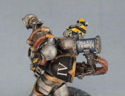 Iron Warriors Assault Marine