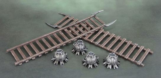 Uruk-Hai Siege Ladders and Siege Bombs