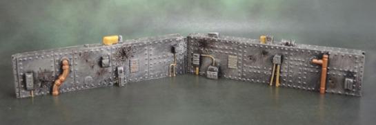 Armorcast Short Sci-Fi Walls